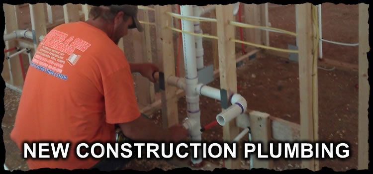 New Construction Plumbing